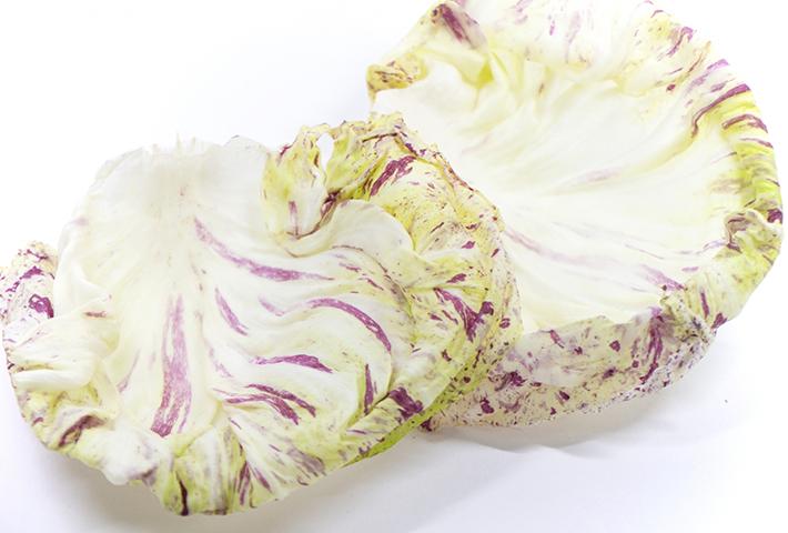 珍しい野菜3 まるで美しいドレスのよう「カステルフランコ」