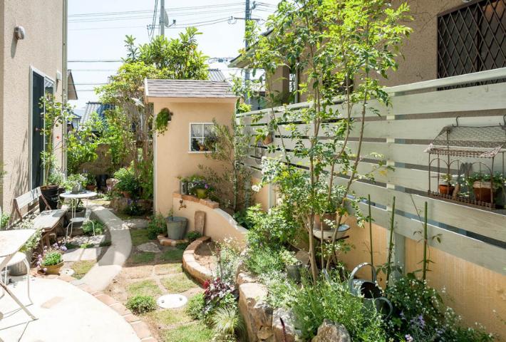庭のスペースを生かそう
