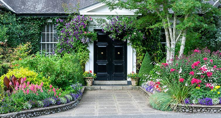 ガーデニング好き必見!門回りに季節の花を植えよう